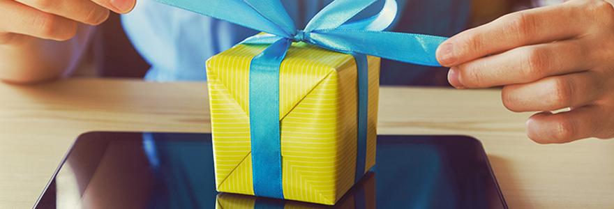 pour offrir cadeaux à vos proches