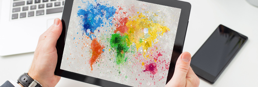 carte du monde en ligne