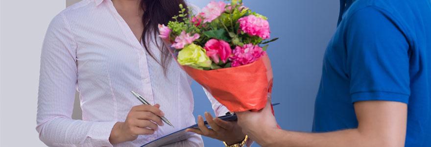 Livraison de fleurs a domicile en France
