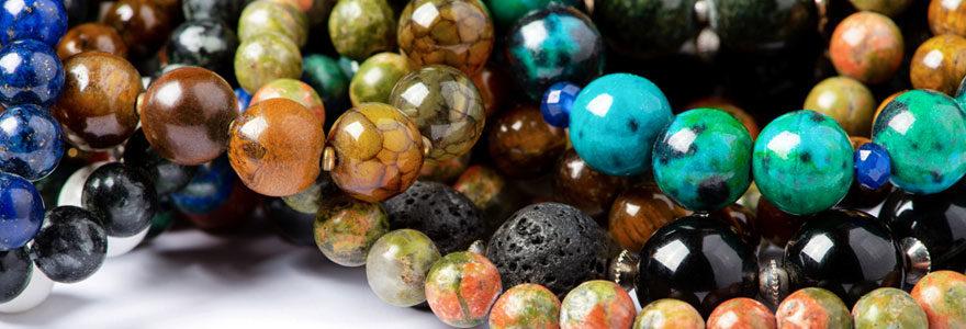 Bijoux en pierre précieuses